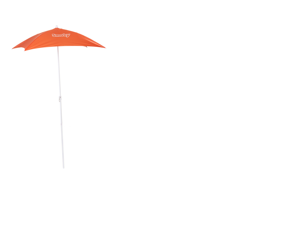 Cort bej Indoor&Outdoor Teepee Evolutive Smoby reglabil în înălțime 159-184 cm cu perdea textilă filtru anti UV de la 2-8 ani